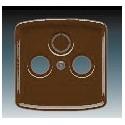 Kryt zásuvky televizní, rozhlasové (a satelitní) hnědá ABB Tango 5011A-A00300 H