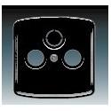 Kryt zásuvky televizní, rozhlasové (a satelitní) černá ABB Tango 5011A-A00300 N