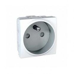Zásuvka 230V/16A, 2P+PE s clonkami,polar MGU3.039.18 UNICA Schneider Electric