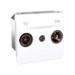 Zásuvka TV-R průchozí, 17dB, polar MGU3.453.18 UNICA Schneider Electric
