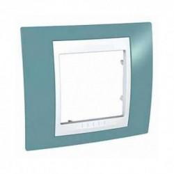 Krycí rámeček UNICA Plus jednonásobný,Manganese/polar MGU6.002.873 Schneider Electric