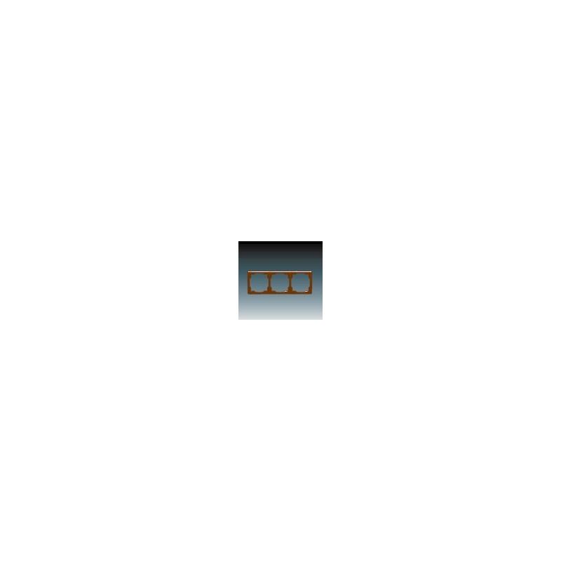 ABB s.r.o. Rámeček trojnásobný (pro vodorovnou i svislou montáž) hnědá ABB Swing 3901G-A00030 H1