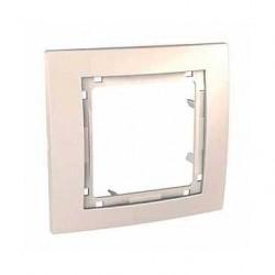 Krycí rámeček bez dekorativního rámečku jednonásobný,marfil MGU4.002.25 UNICA Colors Schneider Electric