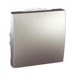 Vypínač, přepínač střídavý, č.6, aluminiaum MGU3.203.30 UNICA Schneider Electric
