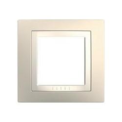 Krycí rámeček jednonásobný kompletní, Cream/marfil MGU2.002.559 UNICA Basic Schneider Electric
