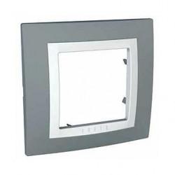 Krycí rámeček jednonásobný kompletní, Technico/polar MGU2.002.858 UNICA Basic Schneider Electric