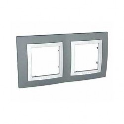 Krycí rámeček dvojnásobný kompletní, Technico/polar MGU2.004.858 UNICA Basic Schneider Electric