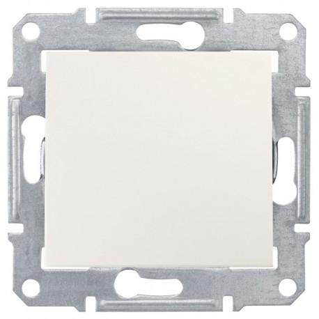 Spínač jednopólový, ř. 1, cream SDN0100123 SEDNA Schneider Electric