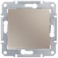 Spínač jednopólový, ř. 1, titan SDN0100168 SEDNA Schneider Electric