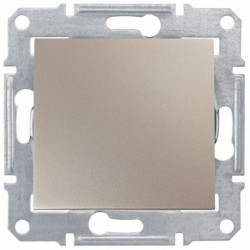 Přepínač střídavý, ř. 6, titan SDN0400168 SEDNA Schneider Electric