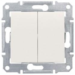 Přepínač sériový, ř. 5, cream SDN0300123 SEDNA Schneider Electric