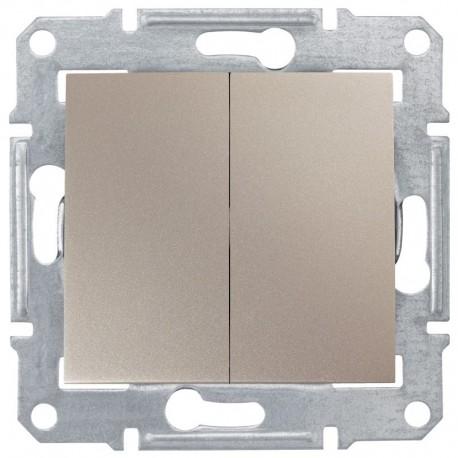 Přepínač sériový, ř. 5, titan SDN0300168 SEDNA Schneider Electric