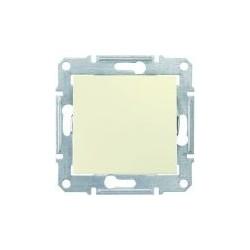 Spínač dvojpólový, ř. 2, biege SDN0200147 SEDNA Schneider Electric