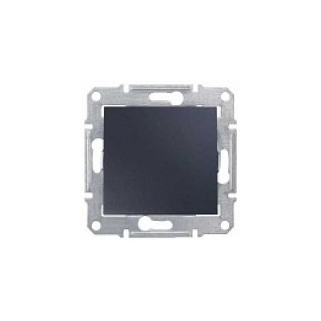 Ovládač tlačítkový, ř. 1/0, graphite SDN0700170 SEDNA Schneider Electric