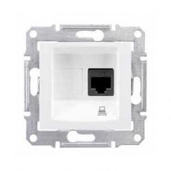 Zásuvka datová 1xRJ45 kat.5e UTP, polar SDN4300121 SEDNA Schneider Electric