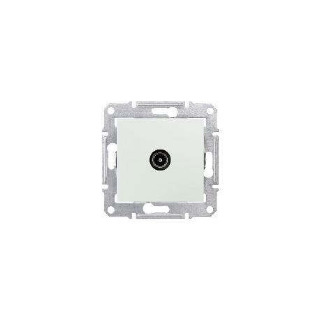 Zásuvka TV průběžná 8 dB, biege SDN3201247 SEDNA Schneider Electric