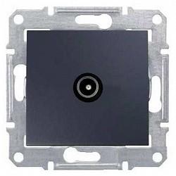 Zásuvka TV průběžná 8 dB, graphite SDN3201270 SEDNA Schneider Electric