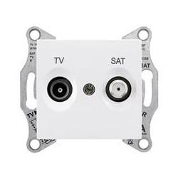 Zásuvka TV/SAT koncová 1dB, polar SDN3401621 SEDNA Schneider Electric