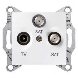 Zásuvka TV/R-SAT-SAT koncová, polar SDN3502121 SEDNA Schneider Electric