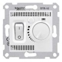 Termostat prostorový otočný s vypínačem, polar SDN6000121 SEDNA Schneider Electric