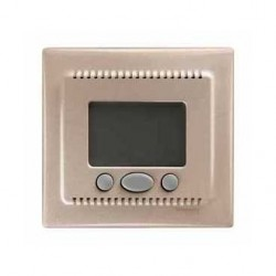 Termostat programovatelný (vč.čidla pro podlahové vytápění), titan SDN6000268 SEDNA Schneider Electric