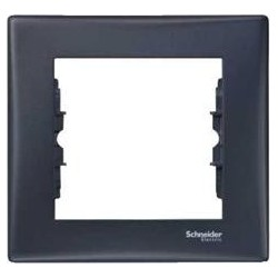 Rámeček jednonásobný, graphite SDN5800170 SEDNA Schneider Electric