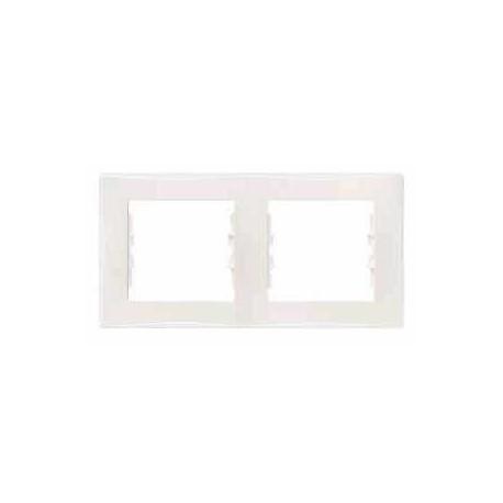 Rámeček dvojnásobný, cream SDN5800323 SEDNA Schneider Electric