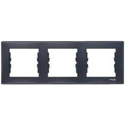 Rámeček trojnásobný, graphite SDN5800570 SEDNA Schneider Electric