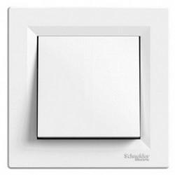 Spínač jednopólový, ř.1, bílá, bezšroubový EPH0100121 ASFORA Schneider Electric