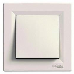 Přepínač křížový, ř.7, krémová, bezšroubový EPH0500123 ASFORA Schneider Electric