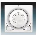 Termostat univerzální s otočným nastavením teploty (ovl. jednotka) ABB Swing 3292G-A10101 B1
