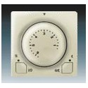 Termostat univerzální s otočným nastavením teploty (ovl. jednotka) ABB Swing 3292G-A10101 C1
