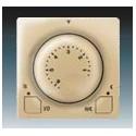 Termostat univerzální s otočným nastavením teploty (ovl. jednotka) ABB Swing 3292G-A10101 D1