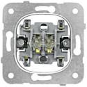 Přístroj spínače 2-pólového č.2, bezšroubové svorky Schrack VISIO 50 EV100005--