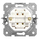 Přístroj spínače 2-pólového č.2, šroubové svorky Schrack VISIO 50 EV100006--