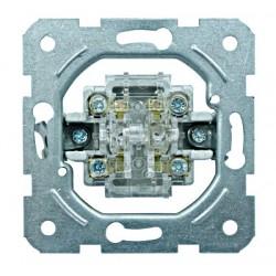 Přístroj přepínače střídavého dvojitého, č.6+6, šroub.svorky Schrack VISIO 50 EV100014--