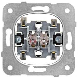 Přístroj přepínače křížového č.7, bezšroubové svorky Schrack VISIO 50 EV100017--