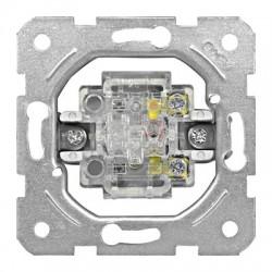Přístroj ovládače spínacího 0/1, šroubové svorky Schrack VISIO 50 EV100020--