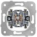 Přístroj ovládače dvojitého 0/1 + 0/1, bezšroubové svorky Schrack VISIO 50 EV100023--
