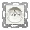 Zásuvka ČSN s dětskou ochranou, šroubové svorky, bílá Schrack VISIO 50 EV101052--