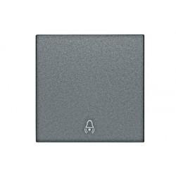 Kryt vypínače, přepínačů a ovladače, symbol zvonek, antracit Schrack VISIO 50 EV112003--