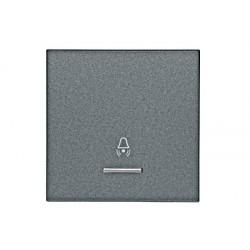 Kryt vypínače průhled, symbol zvonek, antracit Schrack VISIO 50 EV112010--