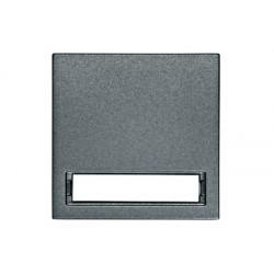 Kryt vypínače průhled, popisné pole, antracit Schrack VISIO 50 EV112011--