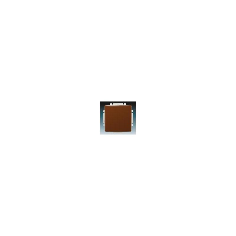 ABB s.r.o. Vypínač, spínač jednopólový s krytem, č.1 hnědá ABB Swing 3557G-A01340 H1