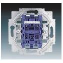 Přístroj spínače žaluziového kolébkového (1+1 s blokováním) 1012-0-1309 ABB