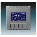 Termostat univerzální programovatelný (ovládací jednotka) ocelová 3292M-A10301 36 ABB Neo®, Neo® Tech