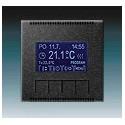 Termostat univerzální programovatelný (ovládací jednotka) onyx 3292M-A10301 37 ABB Neo®, Neo® Tech