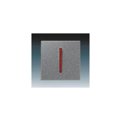 Kryt vypínače jednoduchý s páčkou ocelová/teracotta 3559M-A00651 71 ABB Neo®, Neo® Tech