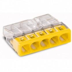 Svorka WAGO 2273-205 mini svorka krabicová 5x2,5mm, žlutá