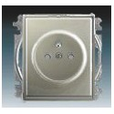 Zásuvka jednonásobná, chráněná, s clonkami, s bezšroub. svorkami antracitová ABB Time 5519E-A02357 34
